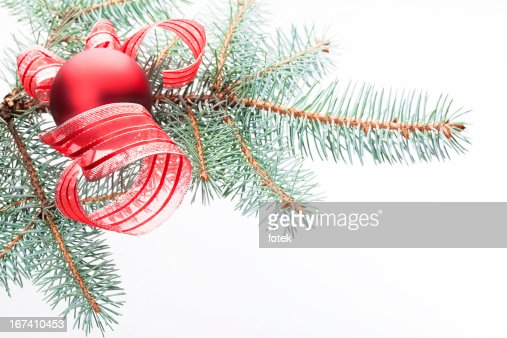 Red christmas decoration : Stock Photo