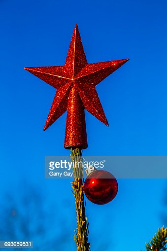 Red Christmas Star