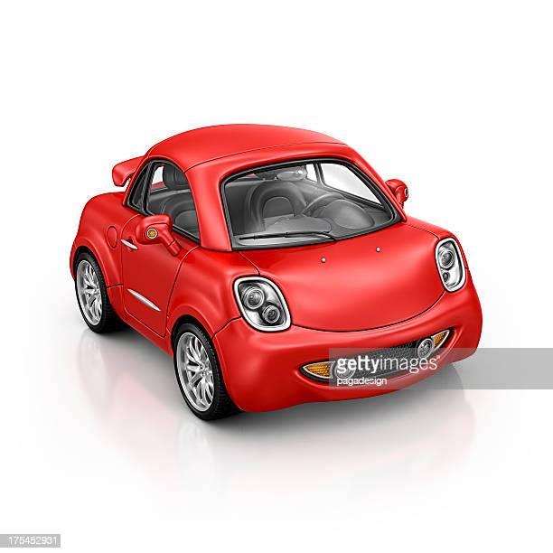 Rote Stadt Auto