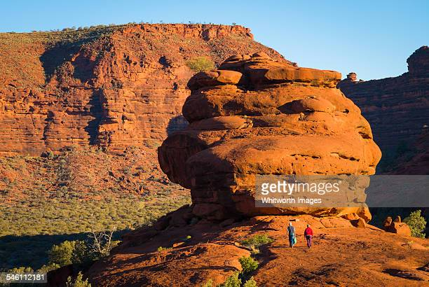 Red cliffs in the Australian outback