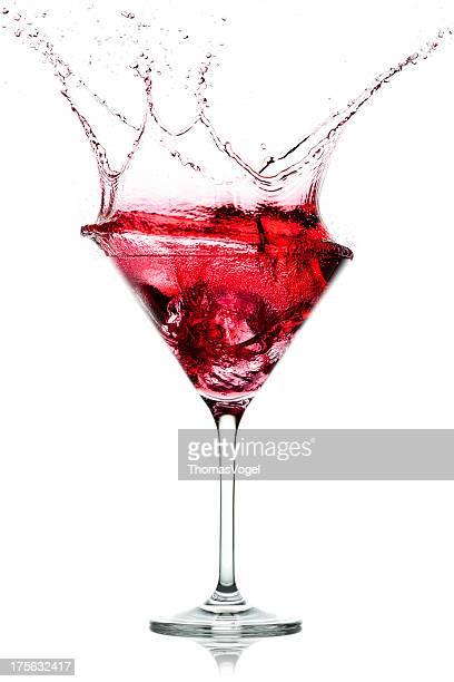 Red Cocktail Splash