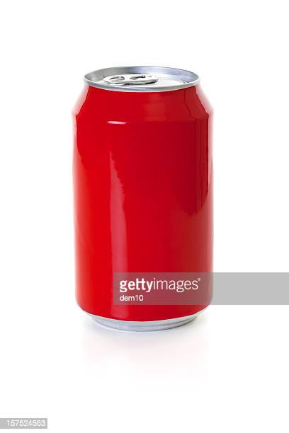 Red Cola Can