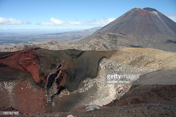 Red Crater, Tongariro Crossing, NZ