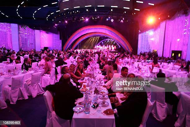 Red Cross ball in Monaco on August 06 2004