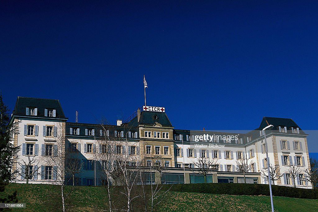 Red Cross Building, Geneva, Switzerland : Stock Photo