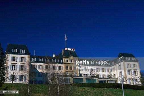 Red Cross Building, Geneva, Switzerland : Photo