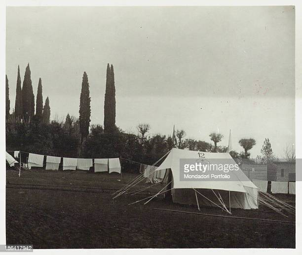 ARMY Red Cross Hospital no 18 in Buttrio Italy 1916 Gelatine process Rome Central Museum of the Risorgimento