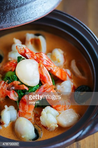 how to cook seafood curry