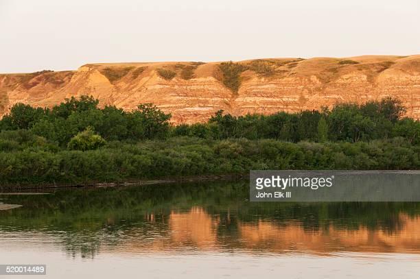 Red Deer River valley landscape