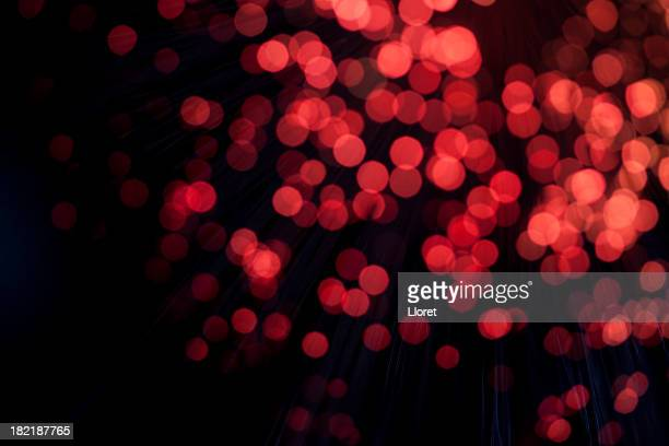 Red defocused Background lights