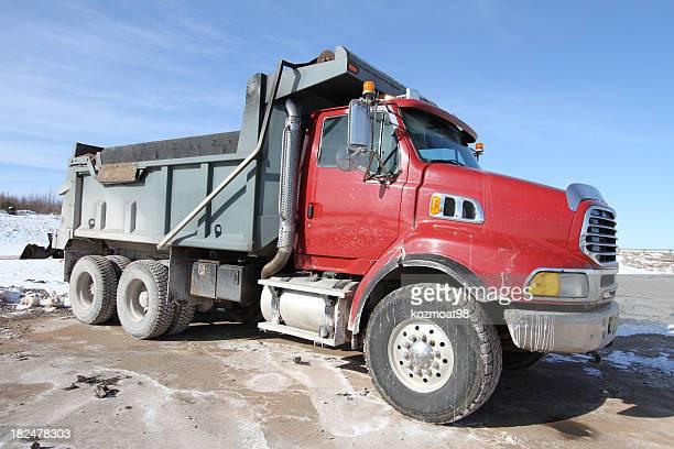 Red Dump Truck