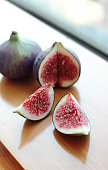 Red figs by window