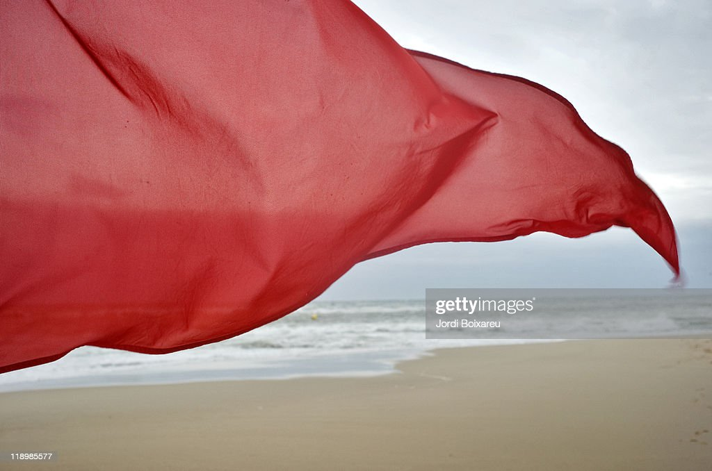 Red flag in wind alerts