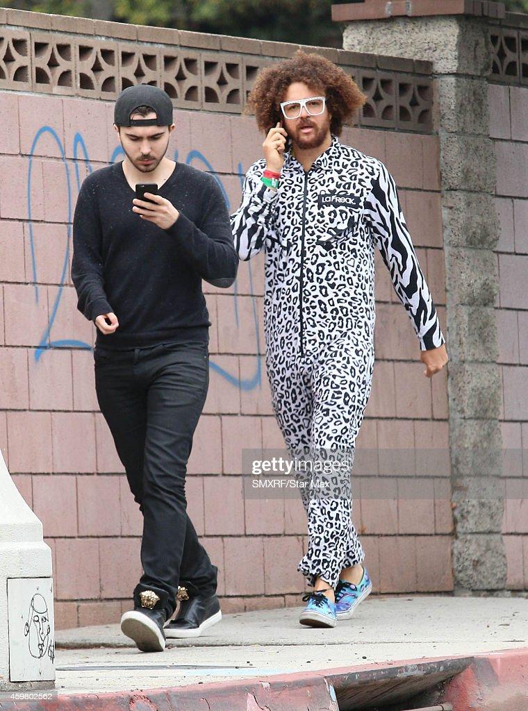 Red Foo of LMFAO is seen on December 1 2014 in Los Angeles California