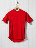 Red Football Shirt