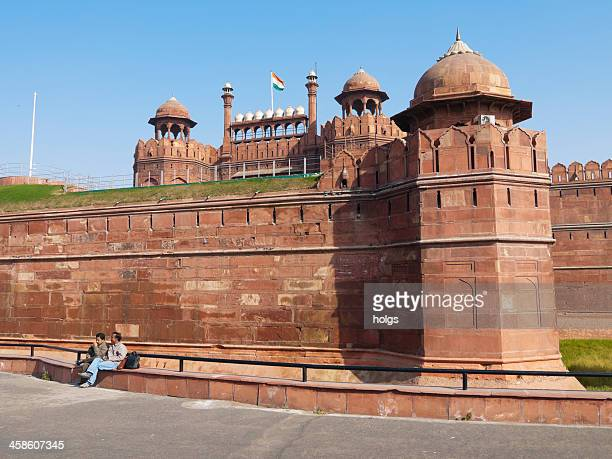 Red Fort during the daytime in Delhi, India