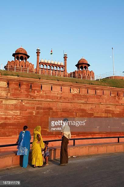 Il forte rosso (Lal Qil'ah) di Delhi, India