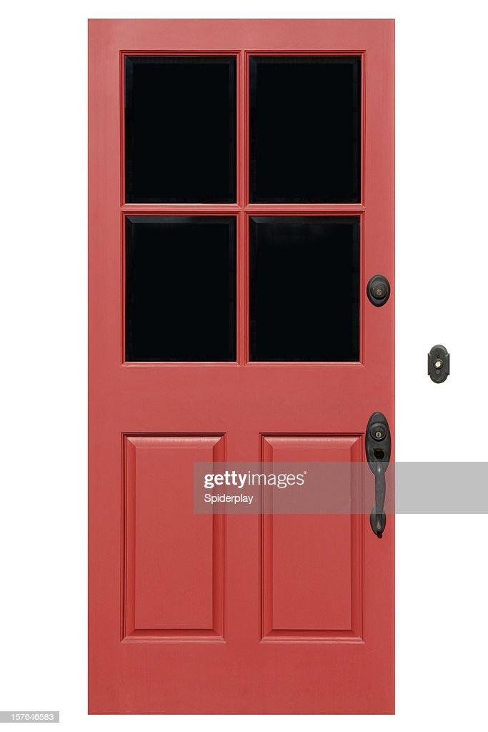 Rouge entrée avec un Tracé de détourage : Photo