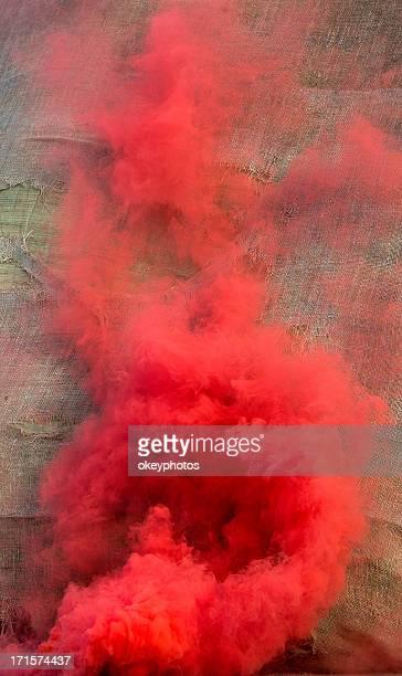レッドの煙霧