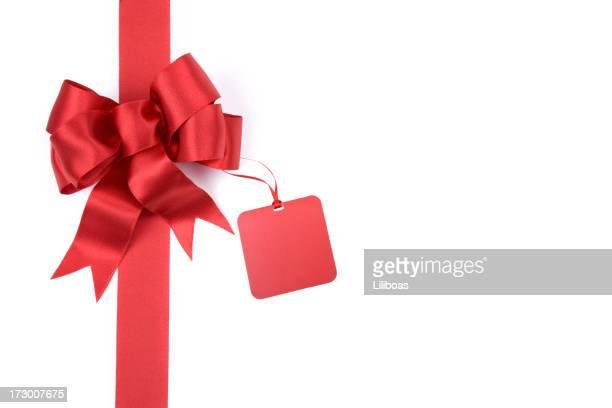 Rouge cadeau Bow (XXL