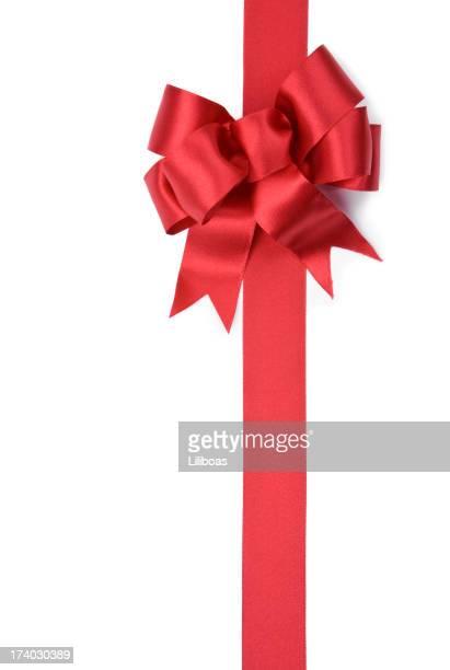 Rot Geschenk Schleife (XXL