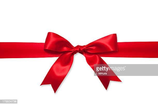 Rot Geschenk-Schleife