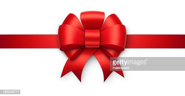 Rouge cadeau bow