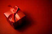 Red gift boxes for surprise