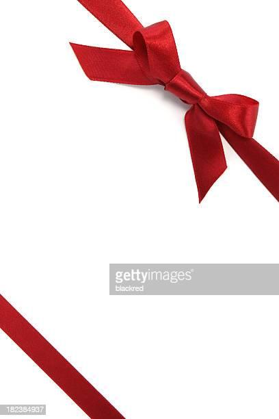 Rot-Geschenk-Schleife & Schleife
