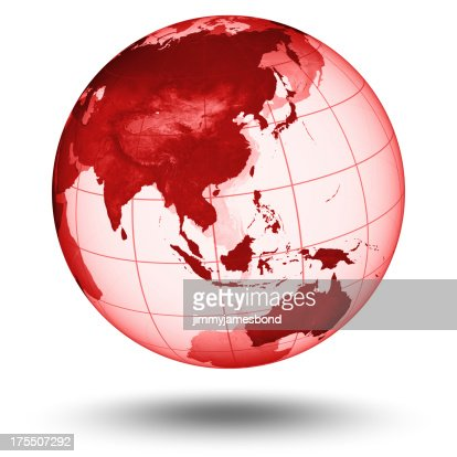 Red Globe - Asian Eastern Hemisphere