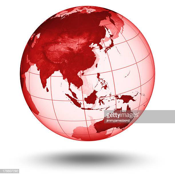 Red Globe - Asian Eastern Hemisphere