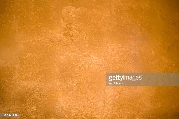 Red gold wall