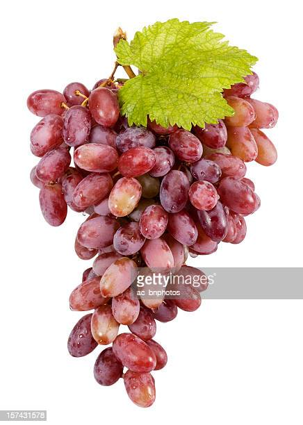 Red grapes(clipping path)