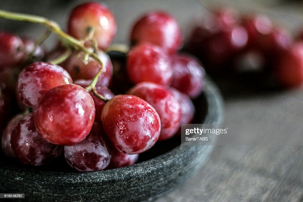 Rote Grapes  : Stock-Foto