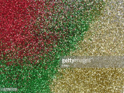 red and green sparkles - photo #20