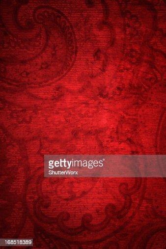 Red Grunge Vintage Background