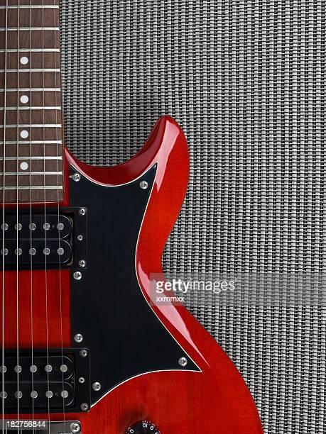 Chitarra rosso