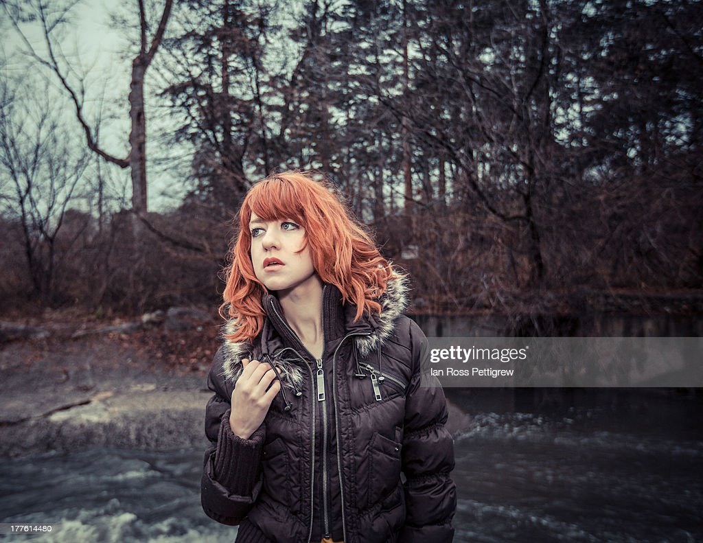 Red hair : Stock Photo