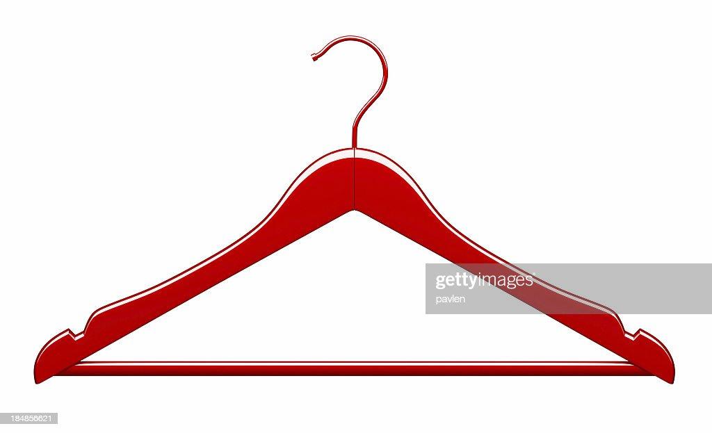 Red hanger