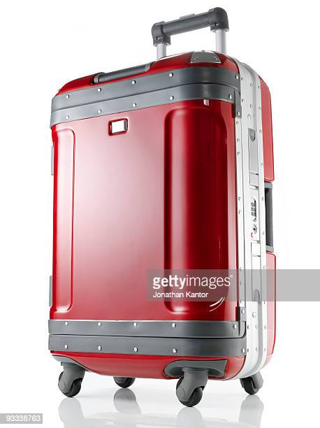 Red Hard Suitcase