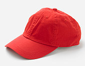 Red hat, side view