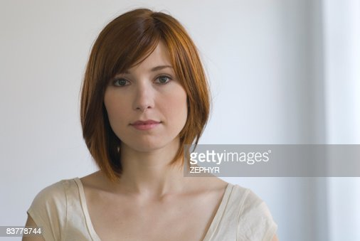 Red Headed Woman Portrait