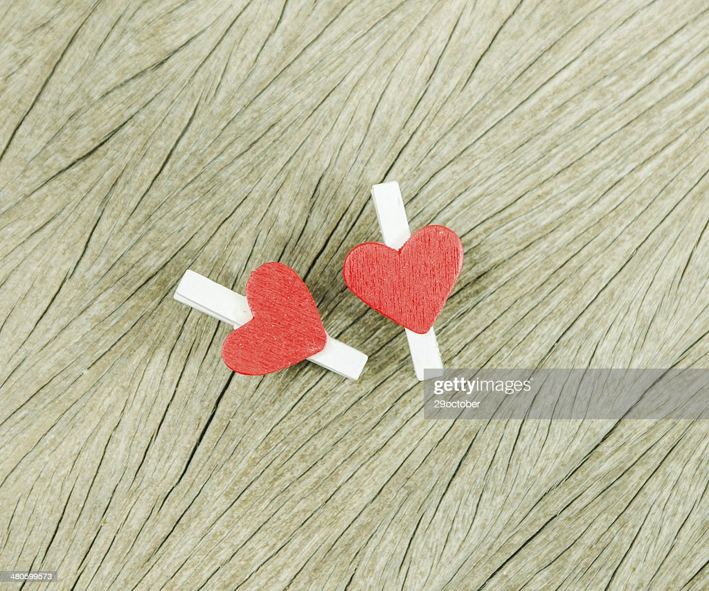 red heart : Stock Photo