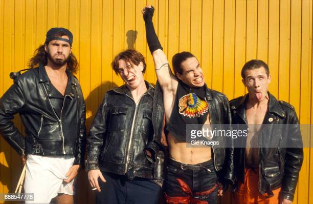Red Hot Chili Peppers Anthony Kiedis Flea John Frusciante Chad Smith Pinkpop Festival Landgraaf Holland