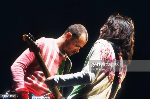 Red Hot Chili Peppers Flea John Frusciante Rock Werchter Festival Werchter Belgium