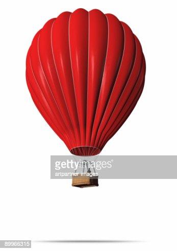 Red Hot-Air Balloon