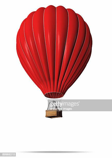 Red Hot-Air Balloon
