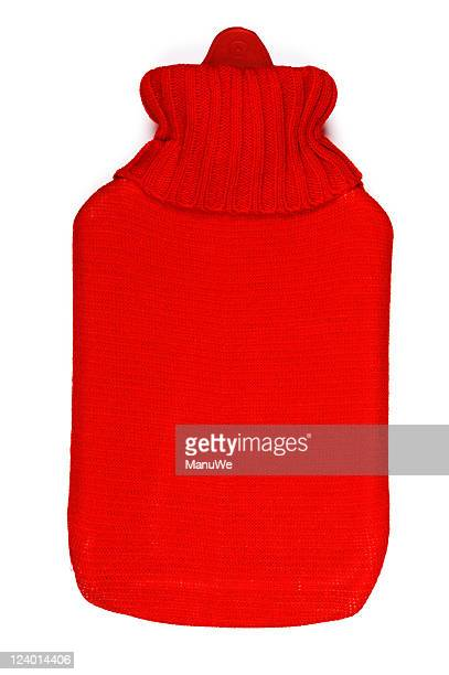 Red Hot-water bag Topview