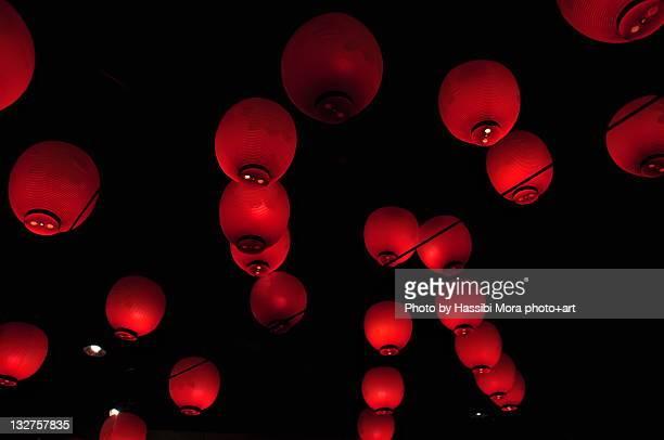 Red lanterns in Osaka