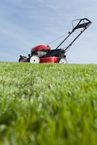Green Grass Lawn Care Nebraska : Lawn mower stock photos and pictures getty images
